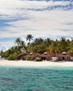 Diamonds Thudufushi is split into Water Villas and Beach Bungalows, pictured here. #Jetsetter