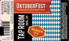 mybeerbuzz.com - Bringing Good Beers & Good People Together...: Rivertown Brewing / Tap Room No 21 - Oktoberfest