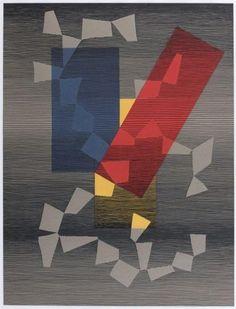 Chanson nocturne - Michel Seuphor. 1958.