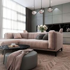 A room should never allow the eye to settle in one place. It should smile at you and create fantasy home decor decoration salon decoration interieur maison Living Room Grey, Home Living Room, Apartment Living, Interior Design Living Room, Living Room Designs, Living Room Decor, Flat Interior Design, Gray Interior, Design Bedroom