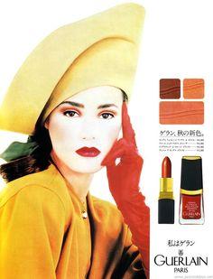 Guerlain, 1988  Model: Yasmin Le Bon