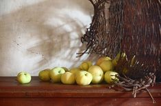 Early Apples Photograph by Nikolay Panov
