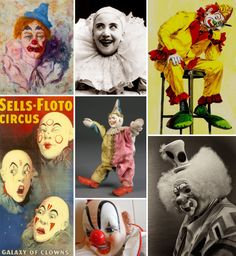 Mood Board Monday: Clowns