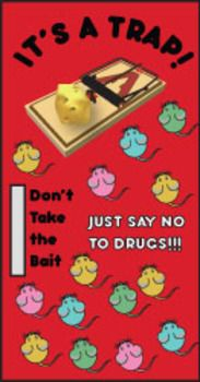 Red Ribbon Week, Door, Bulletin Board, Just say no to drug