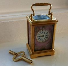 gorgeous carriage clocks - Google Search