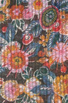 Vintage fabric from 1920s.