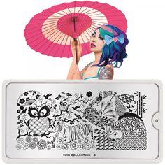 Suki Nail Art Design 01