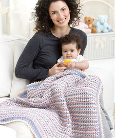 FREE Crochet pattern~ Wrapped in Love Blanket