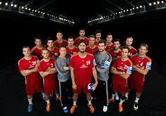 HC Veszprem Handball Team - SEHA Gazprom League, Season 2015/16 Team Photos, Basketball Court, Seasons, My Love, Sports, Recovery, Training, Products, Handball
