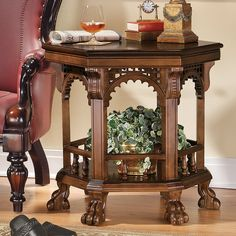 Essex Victorian Parlor End Table. I think this table is just beautiful.