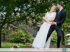 Bride and groom portraits at Chauncey Conference Center wedding in Princeton, NJ by Philadelphia, New Jersey and Delaware wedding photograph...