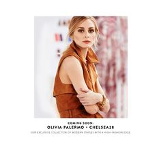 Coming soon: Olivia Palermo + Chelsea28, an exclusive collection of modern staples with a high-fashion edge.