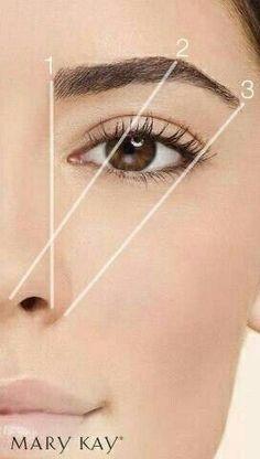 MAQUILLAJE # Make-up # # Lidschatten # Lidschatten # Make-up # Schminken # Lippenstifte # Mac … - Makeup İdeas Photoshoot Eyebrow Makeup Tips, Makeup Hacks, Skin Makeup, Smokey Eye Makeup, Eye Brows, Makeup Eyebrows, Makeup Ideas, Makeup Eyeshadow, Eyebrow Pencil