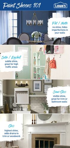 A fresh coat of paint is an easy way to completely transform a space. Head to Lowe's to discover the perfect palette, trends and inspiration for your home. Top Paint Colors, Bathroom Paint Colors, Interior Paint Colors, Paint Colors For Home, Home Garden Design, Home Design, Design Ideas, Room Colors, House Colors