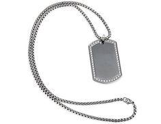 Loveshine Jewelry CZ Stainless Steel Anniversary Mens Womens Necklace Pendant 24 inch Chain loveshine http://www.amazon.com/dp/B01AXOL344/ref=cm_sw_r_pi_dp_-Z5Owb1NAVJ0S