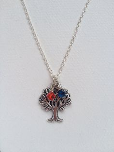 Toomer's Corner/Auburn University necklace