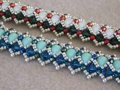 Beaded Bracelet Tutorial Pattern Instructions By Poetryinbeads Braclets Bracelets