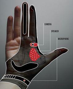 Artikel over een Smart Glove waarmee je allerlei dingen kan doen zoals foto's maken, projecteren, bellen en data uitwisselen. Persoonlijk vind ik dit een erg tof idee en het zou leuk zijn als deze handschoen er echt komt.