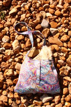 Purse made from recycled clothing…Upcycling by Calder Creations (Photo credit to Ashlee Newman Photography)