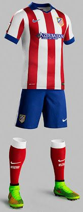 New Atlético Madrid 14-15 Home and Away Kits - Footy Headlines
