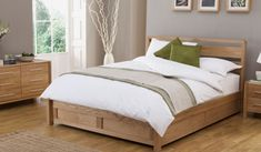 Bensons for Beds - Hip Hop Ottoman Wooden Bed Frame - Bed Frames. Head hight 100 cm. Might just fit???