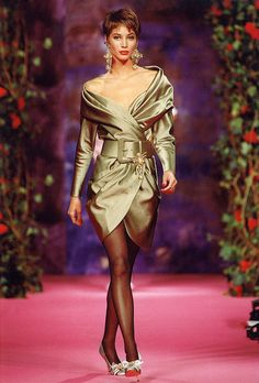 Christian Lacroix Haute Couture Fall-Winter 1990 | Flickr - Photo Sharing!