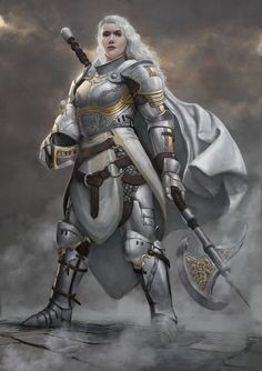 Silver knights of the black gate