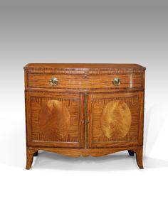 Antique satinwood cabinet  sc 1 st  Pinterest & 95 best Antiques Sideboards / Cabinets / Dressers images on ...