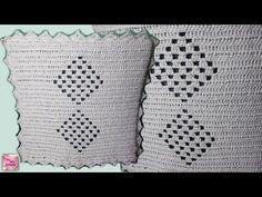Capa de Crochê para o Encosto da Cadeira - Parte 01/ CRISTINA COELHO ALVES - YouTube