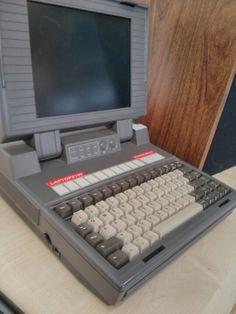Old school laptop