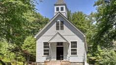 This charming 1893 landmarked schoolhouse located on a quiet mountain road in Lumberland, New York and two miles from the…