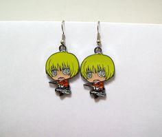 Hey, I found this really awesome Etsy listing at https://www.etsy.com/listing/171827774/attack-on-titan-earrings-geek-anime