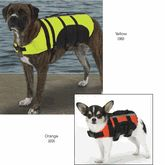 Dog  Life Vest - Guardian Gear - Pet-Preserver at kooldawgtees.com. Guardian Gear® Aqua dog Pet Life Preservers. A high quality dog life jackets great for keeping pets safe in water. Aqua Dog preserver is two layers of buoyancy material, with handles for easy water extraction.