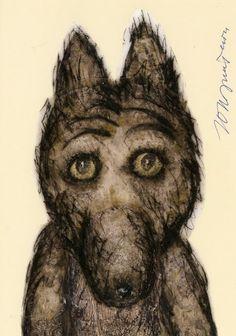 Юрий Норштейн: волчок. Wolf by Yuri Norstein