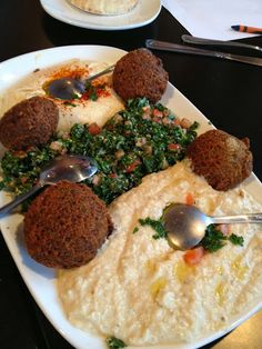 Have you ever tried hummus or baba ganoush? They're delicious. Here is an introduction to family-friendly Lebanese food, with an easy recipe for hummus.