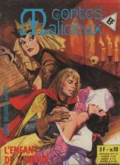 Grande Image de la Couverture Contes Malicieux N° 10