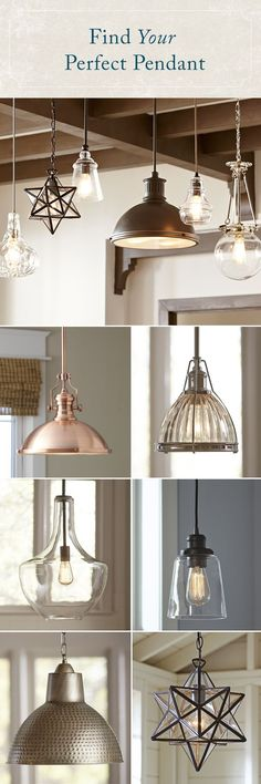 Whether you're looking for a statement piece or simply want to brighten up your space, a pendant will shine a new light on your look. Featuring styles that mix traditional influences with modern-day silhouettes and finishes, GreyDock's selection of pendant lighting has an option for everyone.Best of all, every order over $49 Ships Free! #HomeBeginsHere #HomeDecor