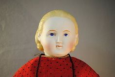 Parian Type Doll with Alice Hairstyle - Marmee's Attic Dolls & Treasures #dollshopsunited