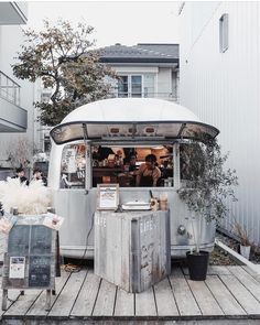 """1,972 Likes, 21 Comments - The Shopkeepers (@the_shopkeepers) on Instagram: """"Airstream Garden, Tokyo @soomin_jeon what a great coffee shop @the_airstream_garden #shopfront…"""""""