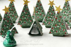 RunningwScissorsStamper: Little Christmas Tree Tents
