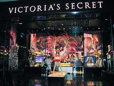 Victoria's Secret -- I could spend hours upon hours in this store. I love the lingerie, the perfume, & the lovely lotions & body sprays.