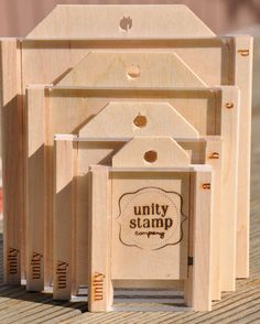 Stamp Handle Full Set - 4 Sizes Unity Stamp Handle Full Set - 4 sizesABCD - Stamps