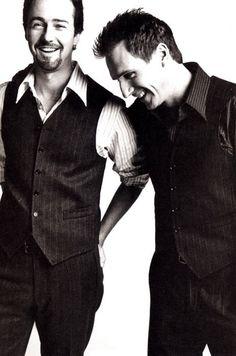 edward norton & Ralph fiennes