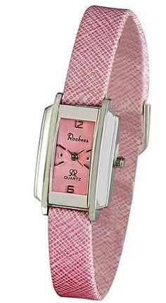 Elegant women's wrist watches in pink | Fashion Belief