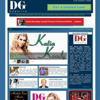 Dear Guest (DG) Company successfully released its Business & Life Style magazine in 2002 which have clearly & rapidly found its way to be one of Egypt's best English magazines in the market. www.dearguest.com   2008 design