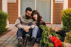 New Darlings - Holiday Style - Holiday Sweaters - Couples Style