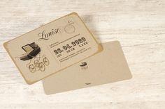 Ecokaart met retro wieg
