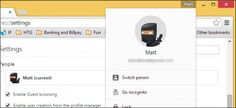 Everything You Need to Know About Google Chrome's Profile Switcher - You may have noticed the addition of a new button occupying the upper-right corner of the Chrome web browser. This is the new avatar profile management system, which adds some cool functionality you might find useful.   HTG