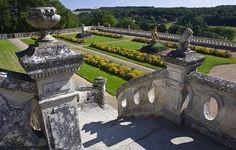 Château de Valançay ~ Loire Valley ~ France ~ Formal gardens of the château.