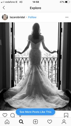 Mermaid Wedding, Bride, Wedding Dresses, Fashion, Wedding Bride, Bride Dresses, Moda, Bridal Gowns, Bridal